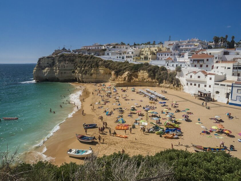 best towns in algarve carvoeiro