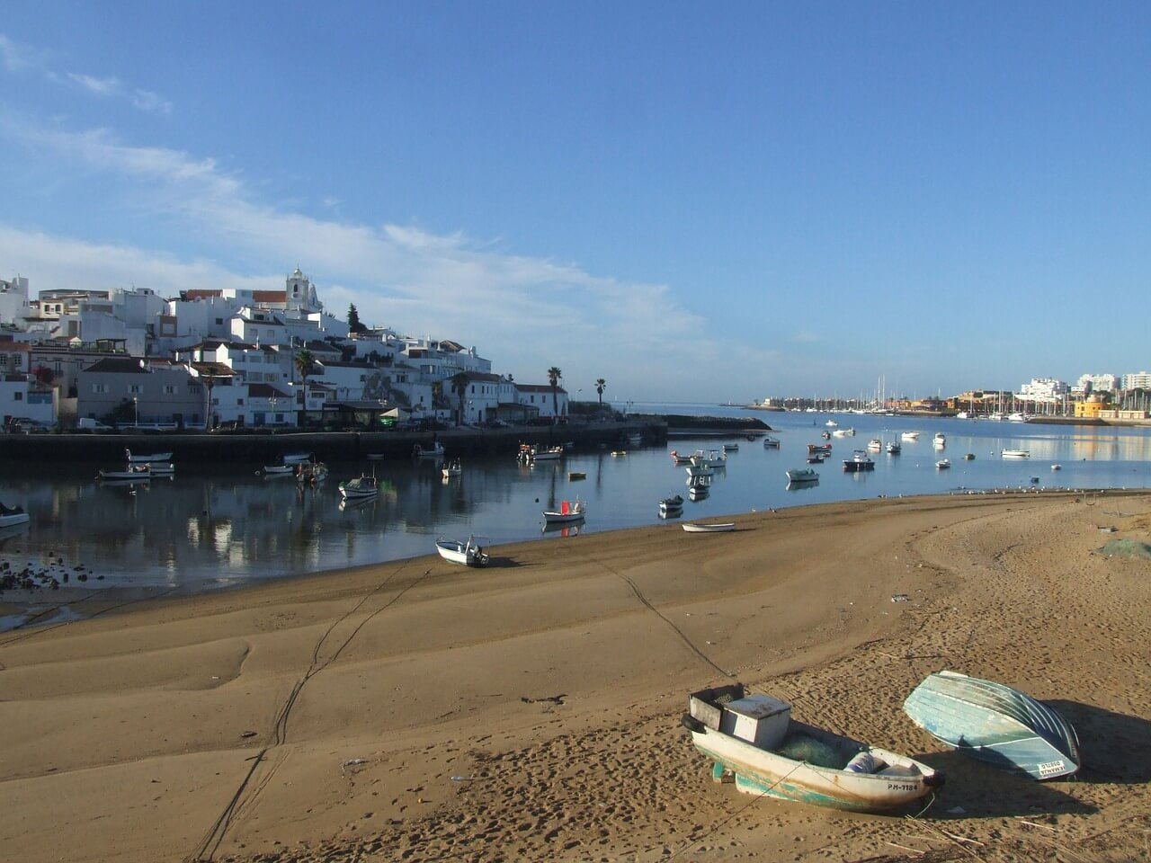 best towns in algarve portimao