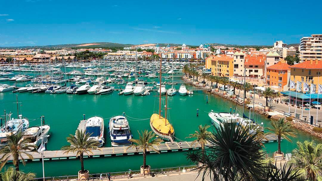 best towns in algarve vilamoura