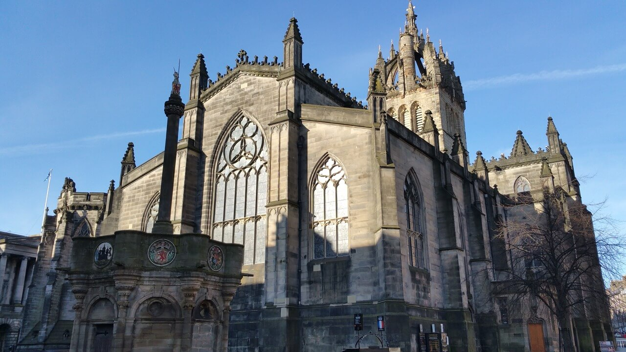 edinburgh old town st giles cathedral
