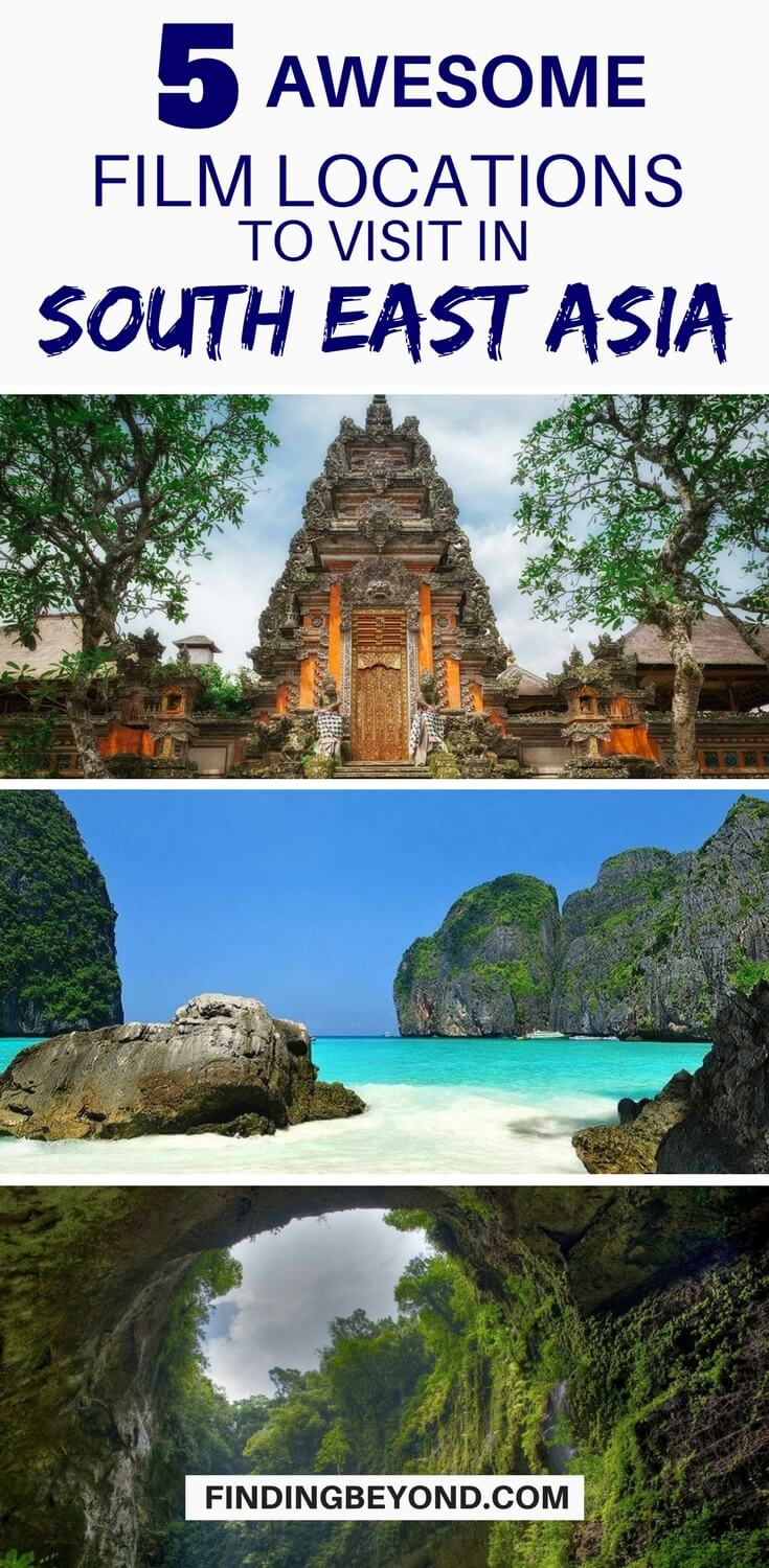 If there was ever a place for a film location, Southeast Asia is it. Follow in the footsteps of your favourites with these five famous film locations.