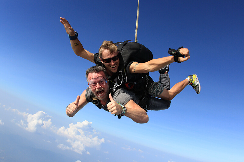 thailand skydive