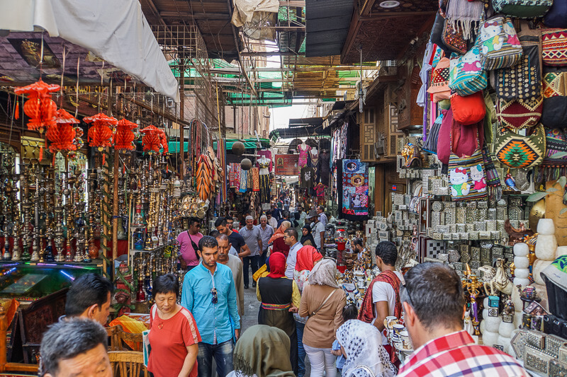 best of cairo khan el khalili market