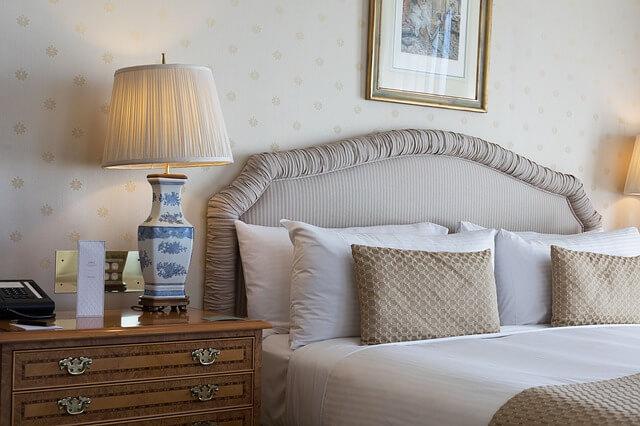 london hotel room