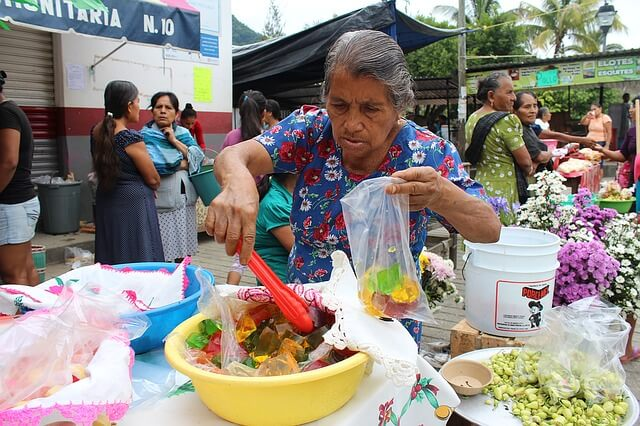 mexican sweet stall