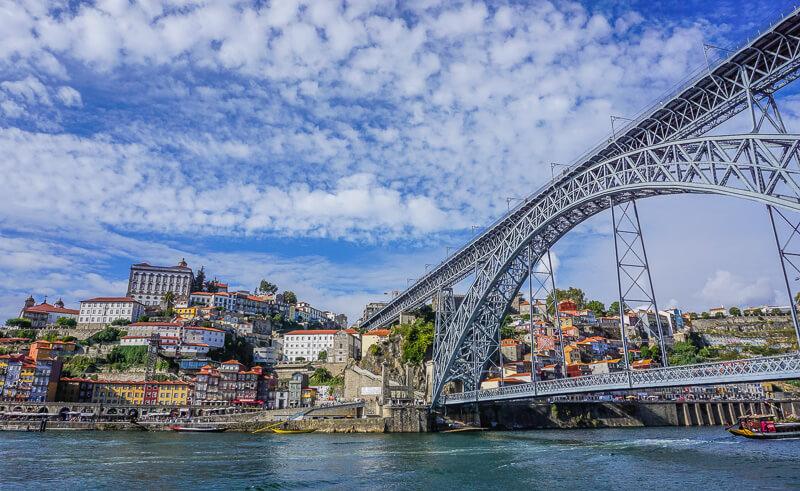 porto bridge portugal