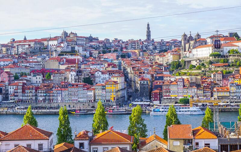 porto city view portugal