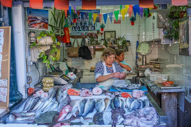 porto fish market portugal