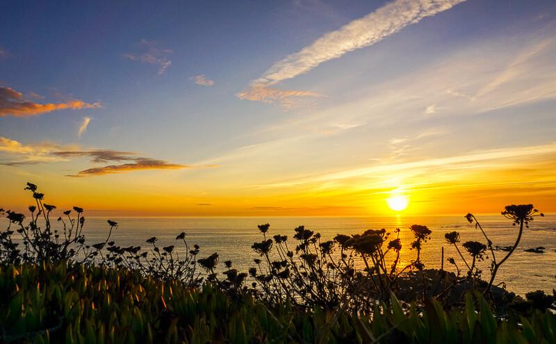 vila nova de milfontes sunset