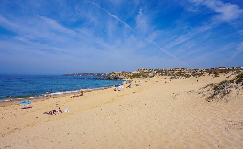 villa nova de milfontes beach portugal