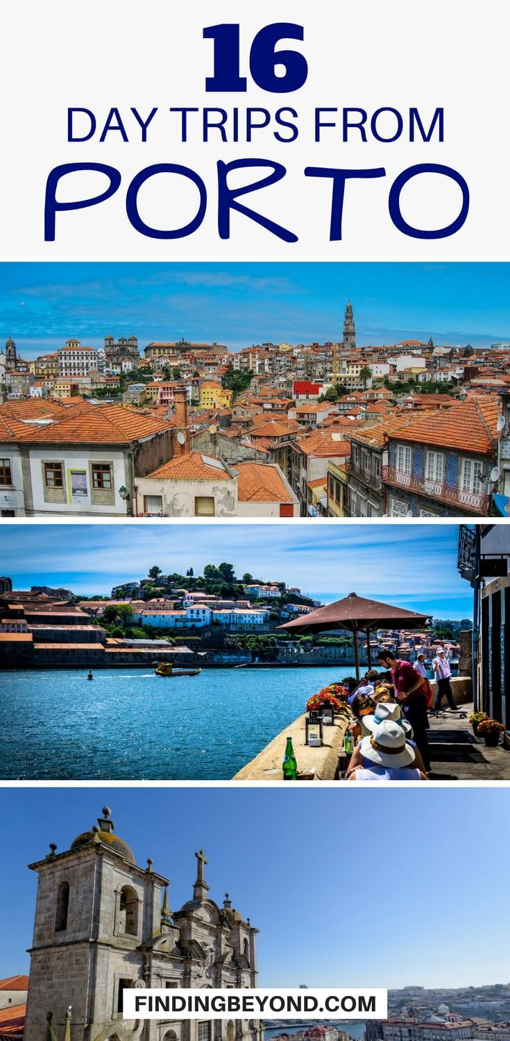 Are you looking for the best day trips from Porto, Portugal? In this post, we list the best of Porto's nearby attractions, sights and things to do.