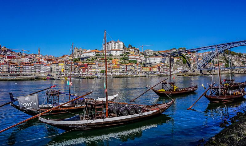 porto port wine rabelo boats