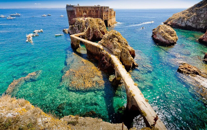 fort berlengas archipelago portugal