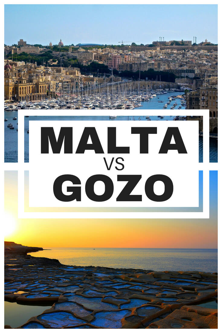 Heading to Malta and cannot decide whether to stay on Malta or Gozo? Check out this Gozo vs Malta comparison to make sure you choose wisely.