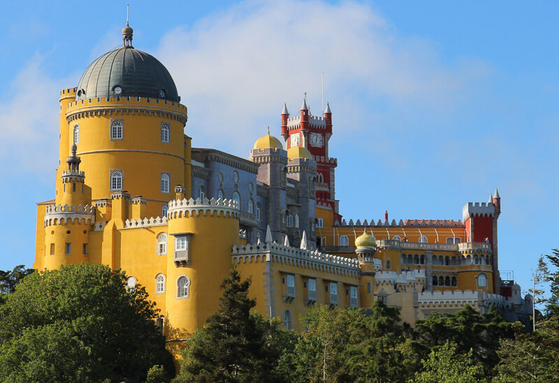 sintra palace portugal