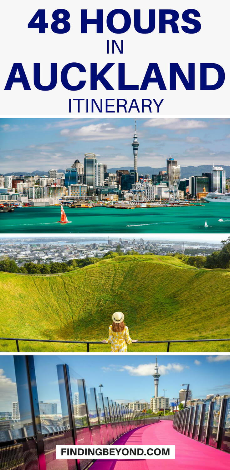 Do you have only 48 hours in Auckland? There's a lot to see but by following our 2 days in Auckland itinerary you'll see all the highlights and more!