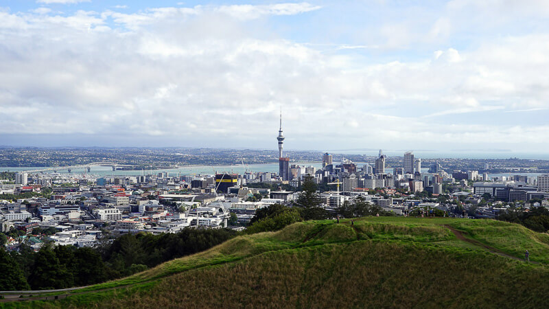 48 hours in auckland city view from mt eden