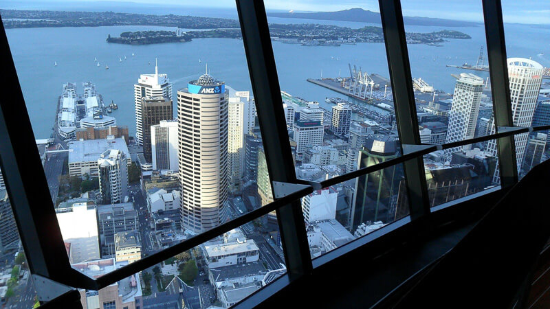 48 hours in auckland city view from sky tower