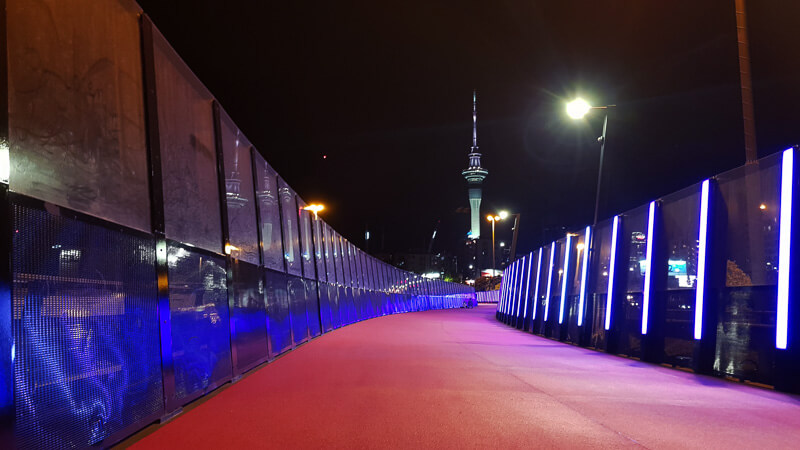 48 hours in auckland pink cycle path