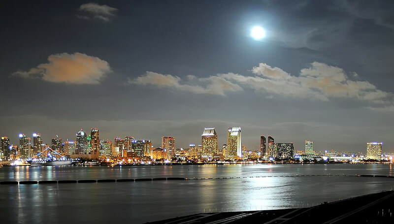 48 hours in san diego at night