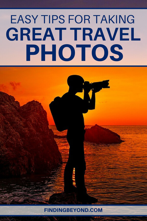 Do you know how to take good photos while on vacation? To help improve the quality of your photos, here are some easy tips that can help.
