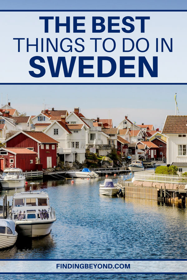 Need some inspiration for your trip to Sweden? Check out these awesome things to do in Sweden to kick off your vacation planning.
