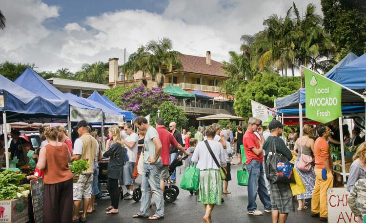 byron bay bungalow market