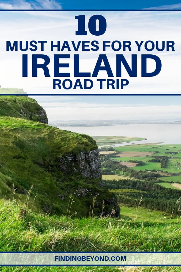 Are you planning an exciting Ireland road trip? Be prepared with this list of must-haves for any road-bound Ireland adventure!