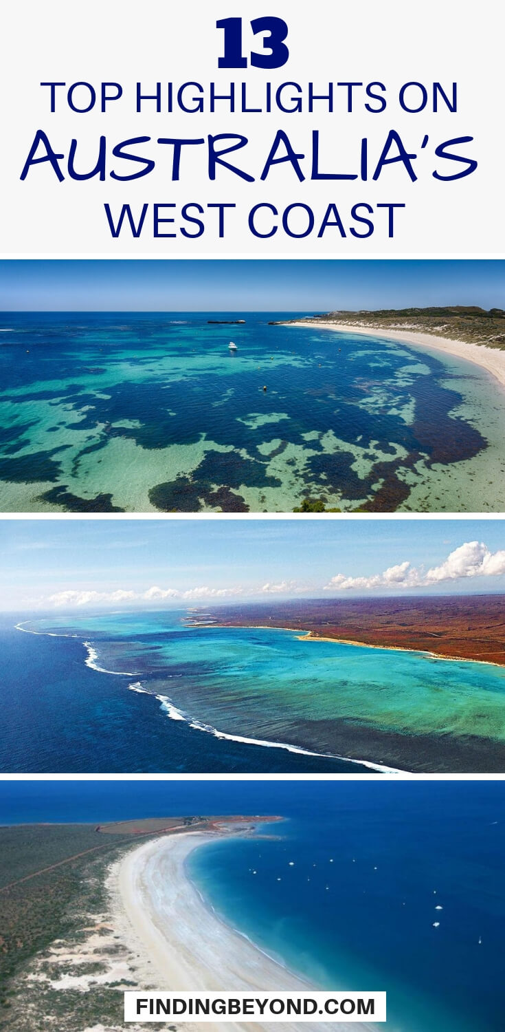 If you're touring Australia's diverse west coast then check out this list of the coastline's top highlights to suit every kind of traveller.