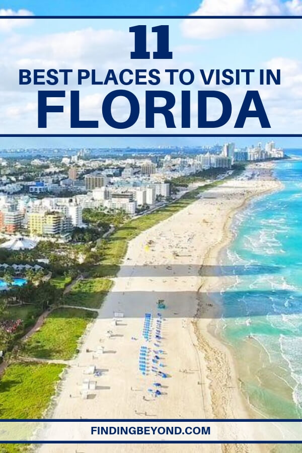 Florida will never fail to surprise you when it comes to locating the top attractions. Here are some of the best places to visit in Florida, United States.