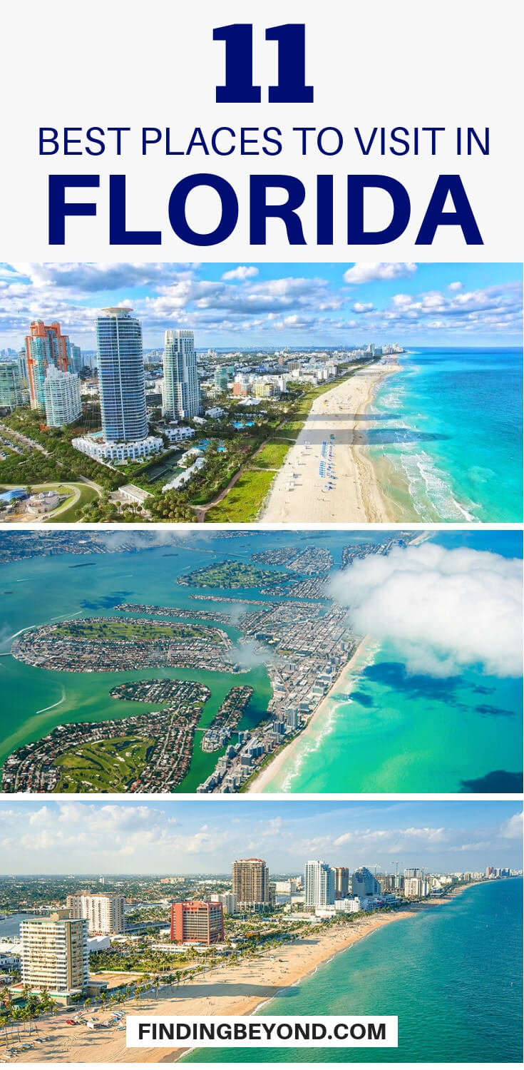 Florida will never fail to surprise you when it comes to locating the top attractions.Here are some of the bestplaces to visit in Florida, United States.
