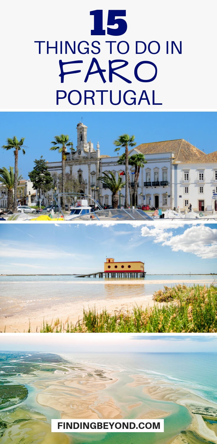 Faro is a charming city in the Algarve that provides an authentic Portuguese experience. Check out these best things to do in Faro and day trips too!