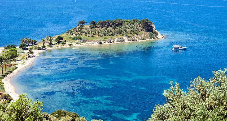 Kusadasi bird island