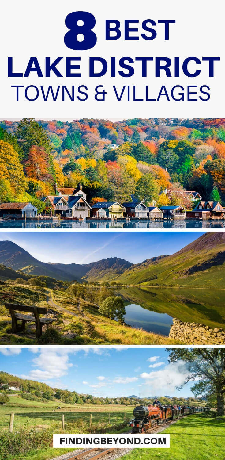 There are plenty of beautiful places to choose from to make your memorable stay in the Lakes. Here we list the best Lake District towns and villages.