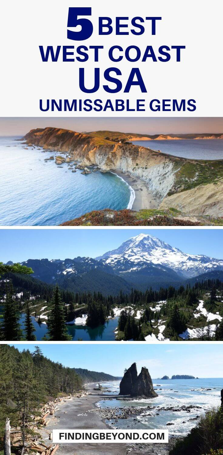 The USA's west coast region features myriads of distinctive sights. So, if you are looking for travel ideas for your next venture, here are a few unmissable gems.