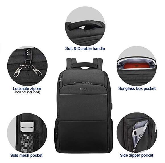 kopack Travel Backpack TSA Friendly Business (1)