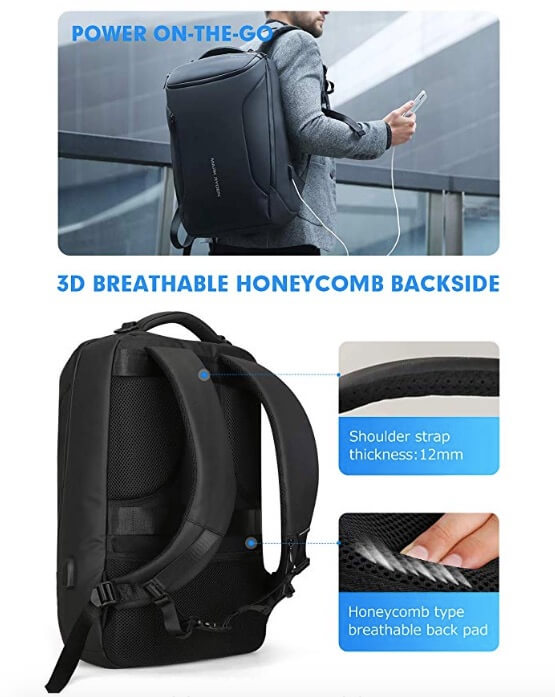 Water-proof Backpack Markryden large-capacity
