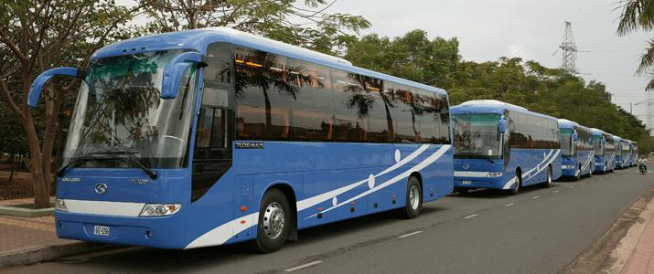 Vietnam open bus ticket buses