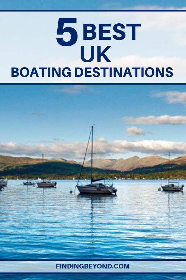 Are you looking for something a bit different for your next adventure? Take to the water in one of these most stunning boating destinations in the UK.