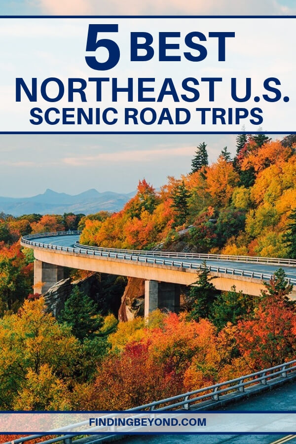 Looking for the ultimate drive? Here are some of the best routes to take to experience the most scenic road trip in the Northeast of the United States.