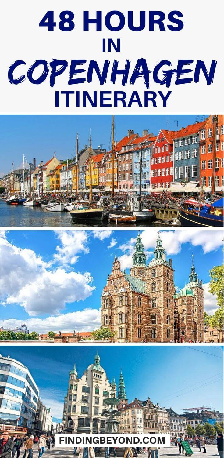 Do you have only 48 hours in Copenhagen? There's a lot to see but by following our two days in Copenhagen itinerary you'll see all the highlights and more!