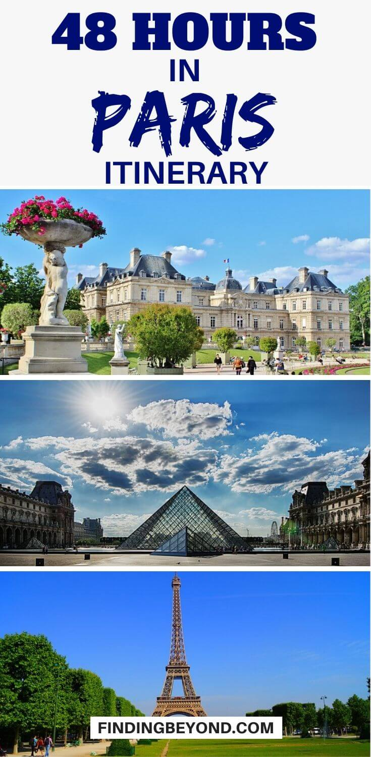 You have only 48 hours in Paris? There's a lot to see but by following our two days in Paris itinerary you'll see all the highlights but with a local twist!