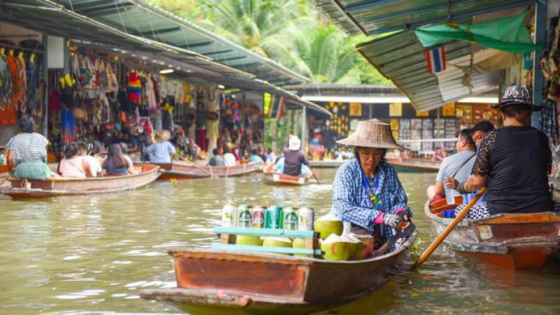 floating market bkk