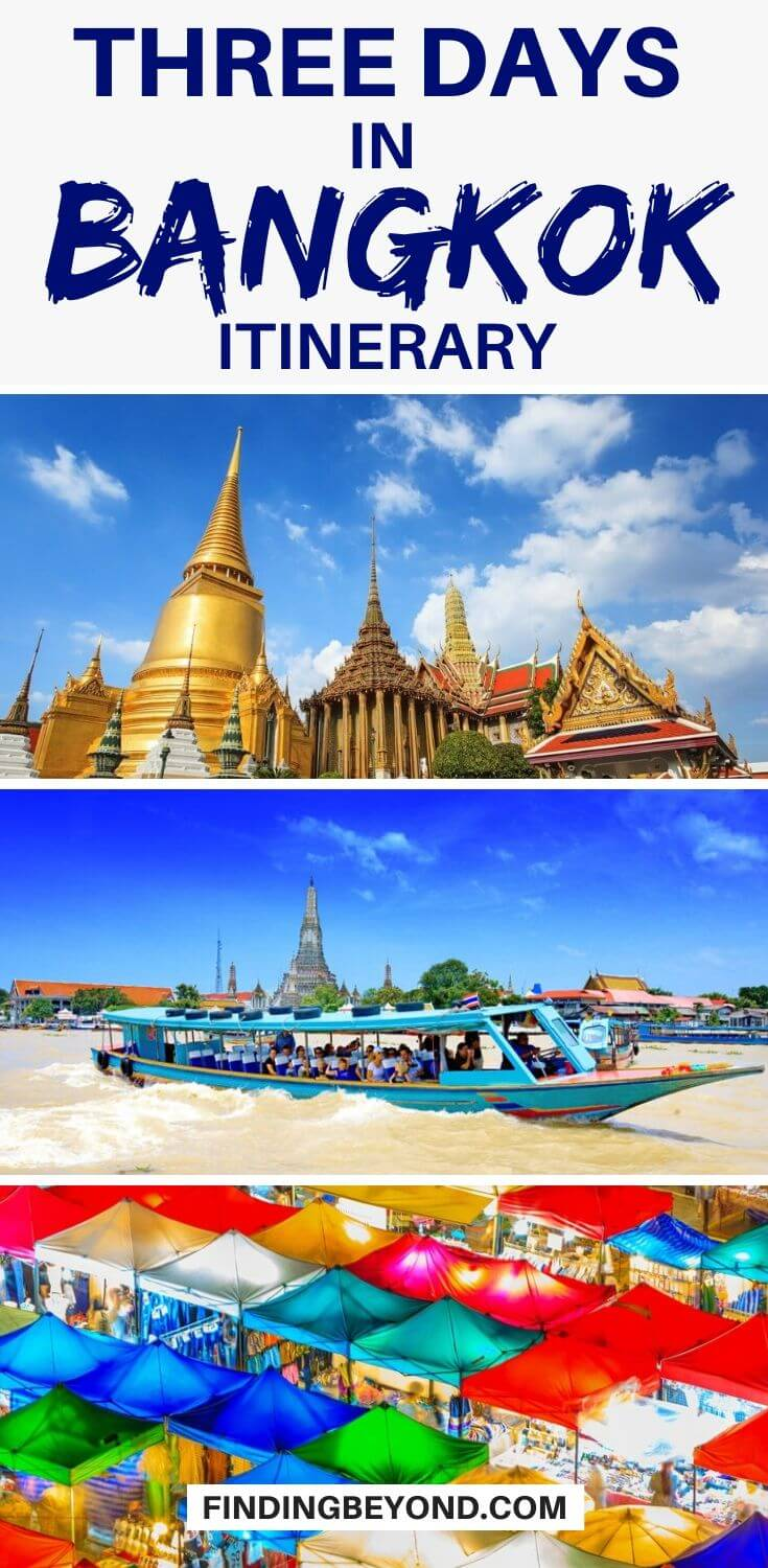 Do you have only 3 days in Bangkok? There's a lot to see but by following our three days in Bangkok itinerary you'll see all the highlights and more!