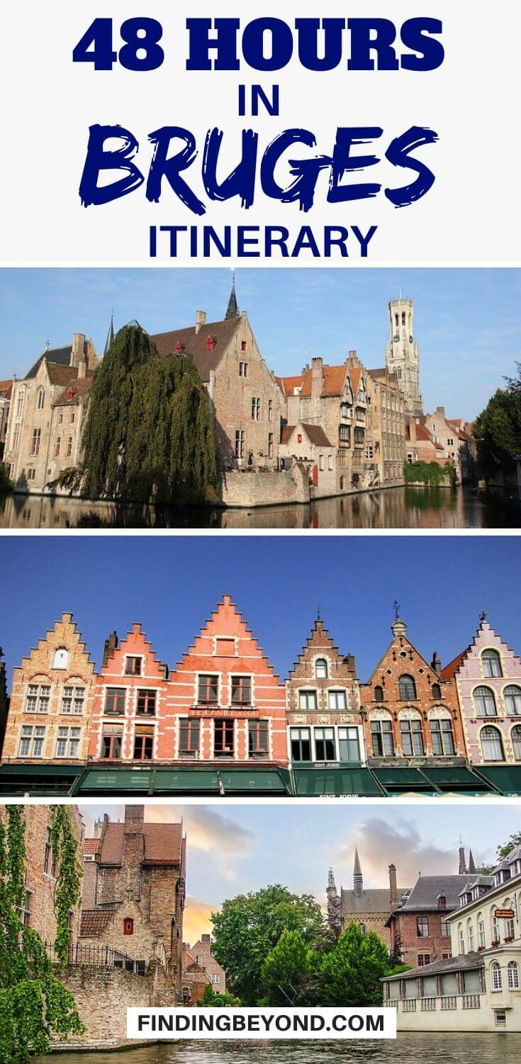So you only have 48 hours in Bruges? This is my recommended two days in Bruges itinerary for what to see, where to eat, and heaps more!