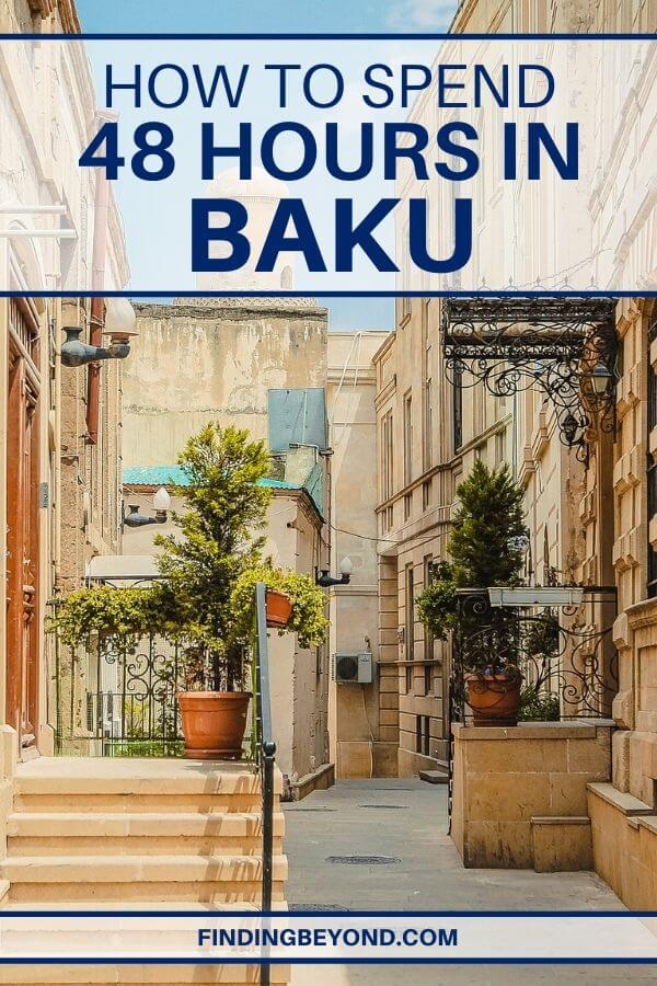 If you just have about two days in Baku, go ahead and check out our 48 hours in Baku itinerary here which explored the old and the new!