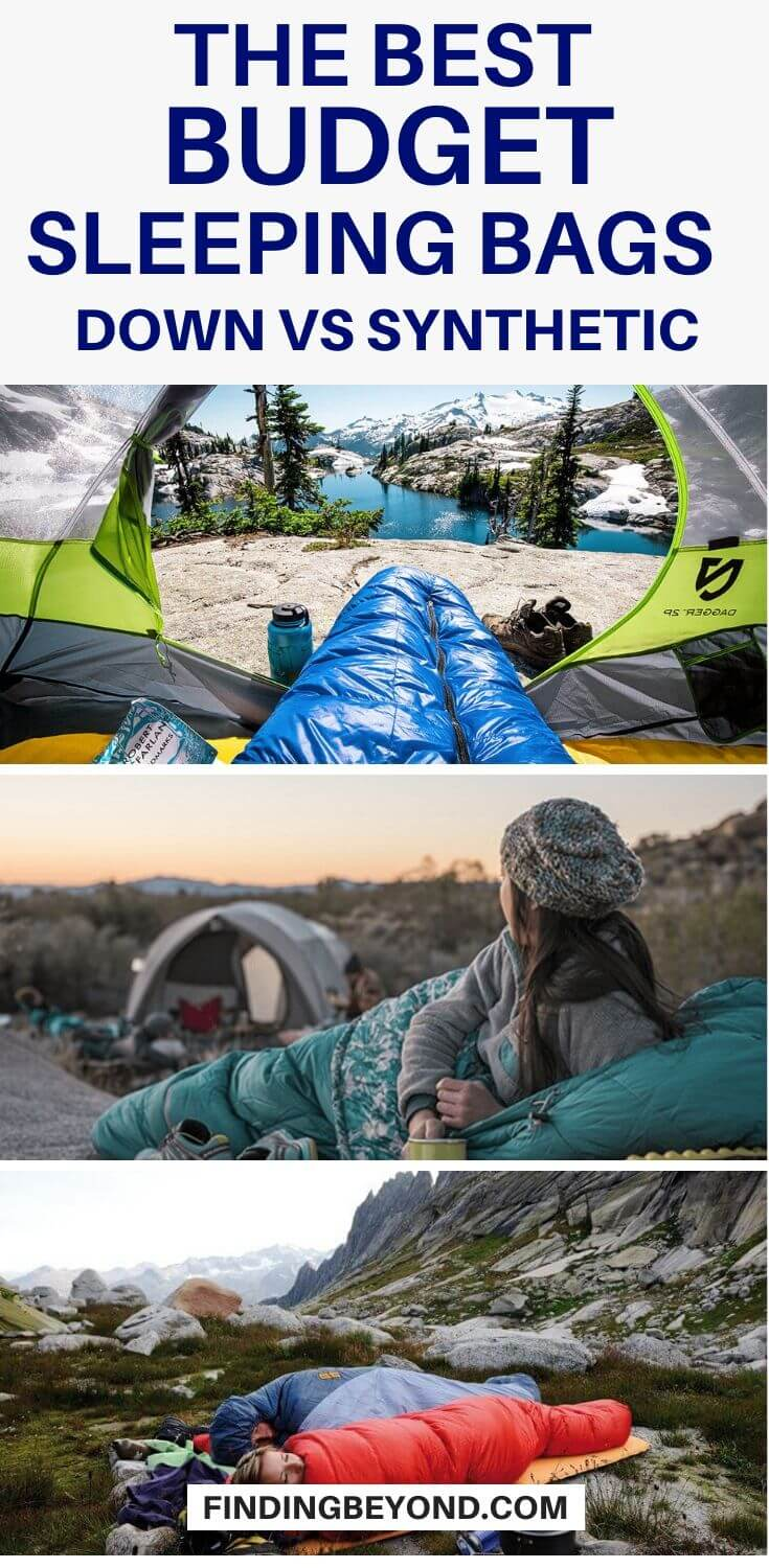 Down Vs Synthetic - What's the better fill for sleeping bags? We provide you with the tools you need to choose the best budget sleeping bag for you.