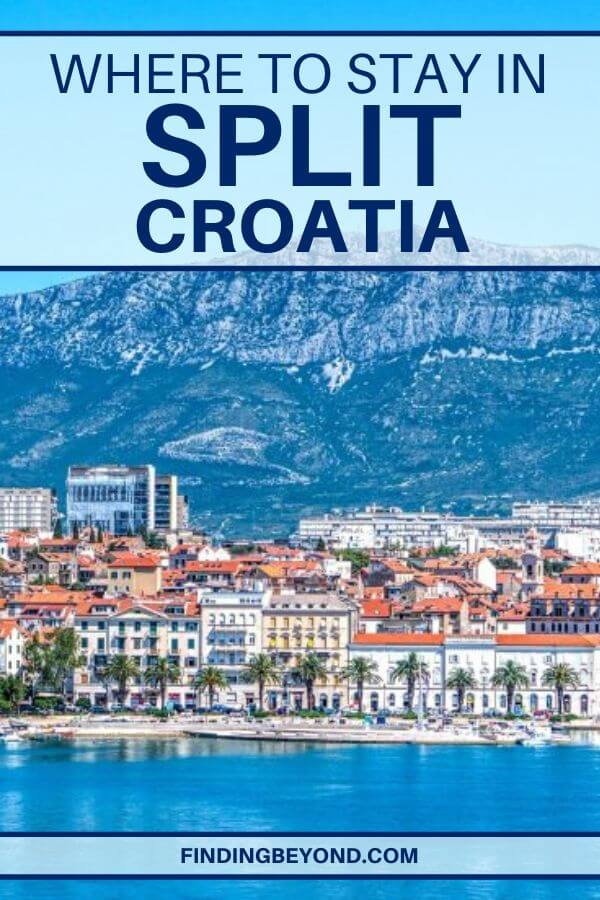 To help plan your Croatia vacation, here's a look at where to stay in Split with accommodation options in each area to suit all budgets.