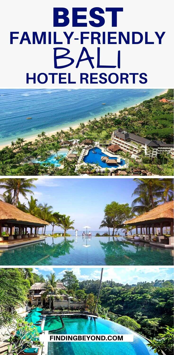 Traveling to Bali with the whole family? Here we share some of the best Bali resorts that you can definitely enjoy with the kids!