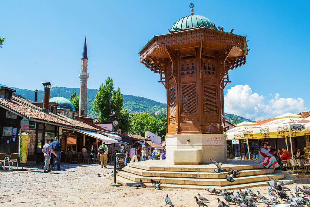 Old-Town Sarajevo